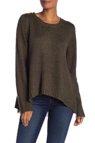 Papillon Back Zip Knit Pullover