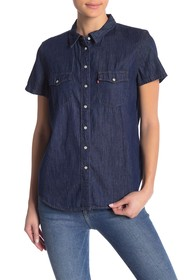 Levi's Larissa Western Button Down Tee