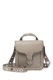 Rebecca Minkoff Midnighter Top Handle Leather Feed
