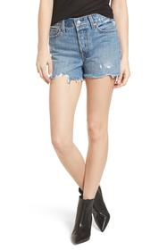 Levi's Levi's(R) Wedgie High Waist Cutoff Denim Sh