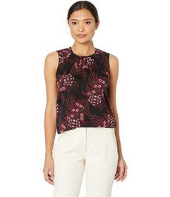 Tommy Hilfiger Printed Sleeveless Woven Top