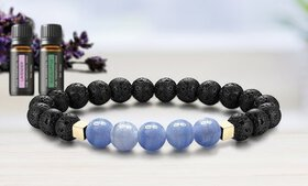 Natural Healing Lava Diffuser Bracelet with Option