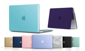 Hard Shell Case Set for Apple MacBook Air or Pro (