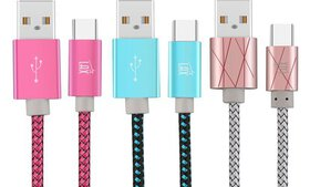 Lax 6ft. USB-C-to-USB Cable for Samsung Galaxy, Go