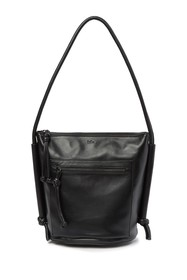 Kooba Cameroon Leather Bucket Shoulder Bag