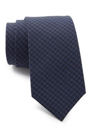 Theory Roadster Tailoreded Gingham Tie