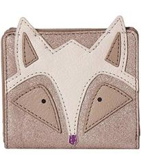 Fossil Fox Novelty Rfid Mini Wallet
