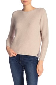 Lola Made In Italy Ribbed Crew Neck Sweater