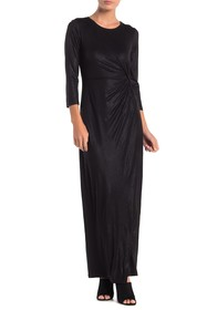 Spense Side Knot Maxi Dress
