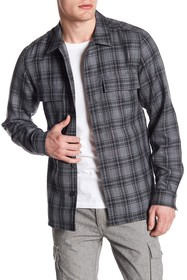 Theory Mory Wool Double Pocket Shirt