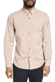 Theory 'Sylvain' Trim Fit Long Sleeve Sport Shirt