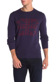 Ben Sherman Union Jack Jaq Sweater