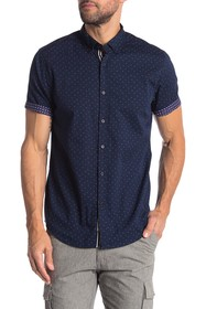 Heritage Micro Branch Slim Fit Shirt