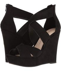 Chinese Laundry Black Microsuede
