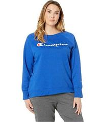 Champion Plus Fleece Boyfriend Crew - Graphic Y074