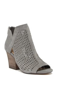 Vince Camuto Cachinta Open Toe Suede Bootie