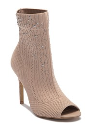 Charles By Charles David Peep Toe Sock Bootie