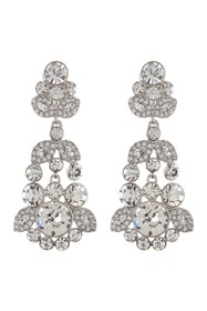 Givenchy Crystal Chandelier Earrings