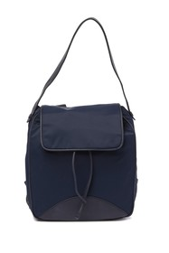 Cole Haan Zerogrand Nylon Leather-Trimmed Backpack