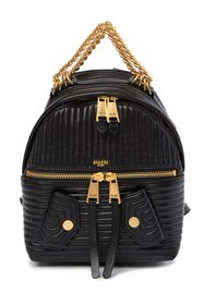MOSCHINO Quilted Leather Backpack