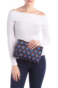 Marc Jacobs Double J Screaming Dot Cosmetic Case