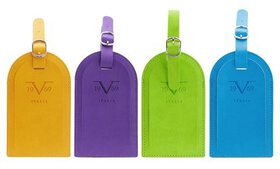 V19.69 Italia Luggage Tag Pair with Hidden Informa