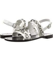 COACH Eden Flat Sandal with Signature Chain