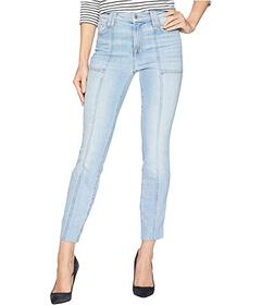 7 For All Mankind Roxanne Ankle w\u002F Paneled Se