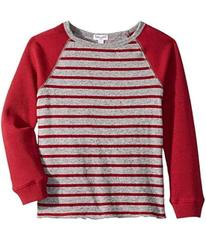 Splendid Littles Yarn-Dyed Stripe Raglan Top (Litt