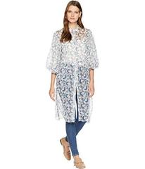 Vince Camuto Bubble Sleeve Boutique Floral Side Ti