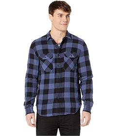 7 For All Mankind Long Sleeve Double Face Buffalo