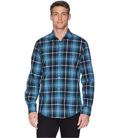 Perry Ellis Total Stretch Oversize Exploded Plaid