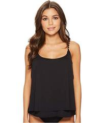 MICHAEL Michael Kors Safari Solids Layed Tankini T