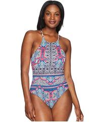 Tommy Bahama Riviera Tile Reversible High-Neck One