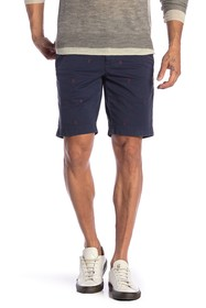 Brooks Brothers Embroidered Foulard Shorts