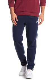 adidas Essentials 3 Stripe Fleece Sweatpants