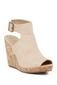 Johnston & Murphy Mila Open Toe Wedge Sandal