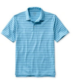 L.L.Bean Stretch Polo Shirt, Slightly Fitted Short