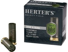 Herter's® Select Field Dove and Quail Loads – Per
