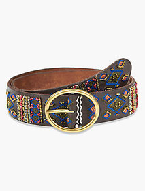 Beaded Embroidery Belt