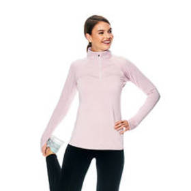 RBX Brushed Back Jersey 1/4 Zip Top