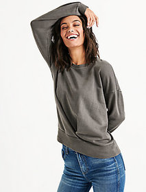 Pleat Front Pullover