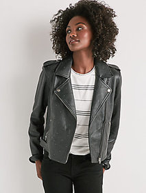Pin Dot Moto Jacket