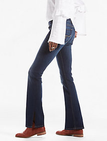 Lolita Bootcut Jean With Side Slit
