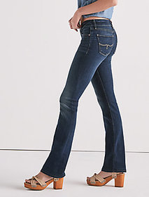 Lolita Mid Rise Bootcut Jean In Sand Hill