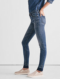 Ava Mid Rise Legging Jean With Extended Release