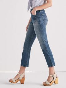Lucky Pins High Rise Cropped Jean
