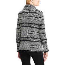 Chaps Cotton Blend Long Sleeve Sweater Cardigan