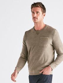 Welter Weight Washed Pocket Crew