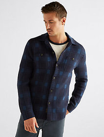Plaid Sweater Shirt